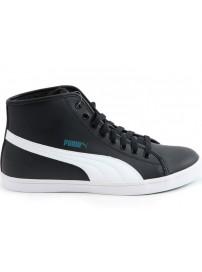 359256 03 Puma Elsu Mid Fur (black/white)