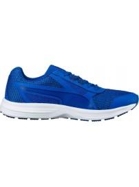 189961 02 Puma Essential Runner (lapis blue/blue depths/turq)