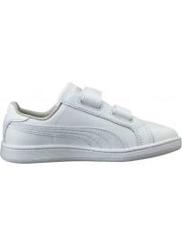 361591 04 Puma Smash Fun L V PS (puma white/puma white)