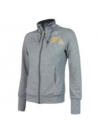 506878 02 Puma Move Sweat Jacket Χρώμα Γκρι