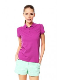 831798 12 Puma ESS Polo Γυναικεία μπλούζα πόλο μακό