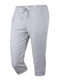 832156 08 Puma Style Capri Γυναικείο παντελόνι κάπρι (light gray leather)
