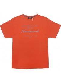 1038 200 GCM Ανδρικό κοντομάνικο t-shirt Χρώμα Πορτοκαλί
