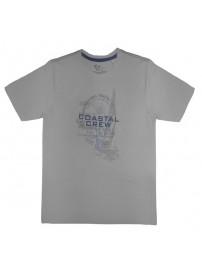 18162 GCM Ανδρικό κοντομάνικο t-shirt Χρώμα Γκρι