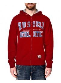 A4-002-1-431 Russell Athletic Zip Through Hoody