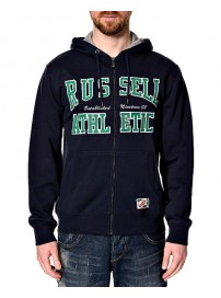 A4-085-1-190 Russell Athletic Zip Through Hoody