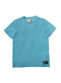 A9-042-1 Russell Ανδρική μπλούζα μακό Χρώμα Σιέλ