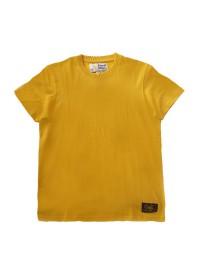 A9-042-1 Russell Ανδρική μπλούζα μακό Χρώμα Κίτρινο
