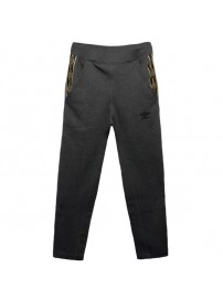 60906U Umbro Cuffed Fleece Pant (charcoal marl)