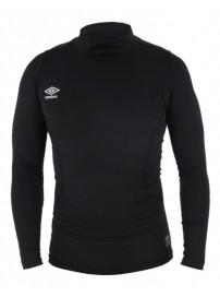 62538U 060 Umbro Ισοθερμική μπλούζα με χαμηλό ζιβάγκο Χρώμα Μαύρο