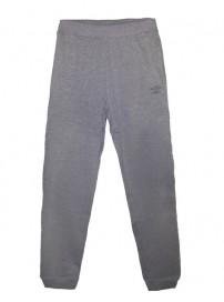 62738EPC6-C 0088 Umbro Pant with cuff rib 6cm Xρώμα Γκρι
