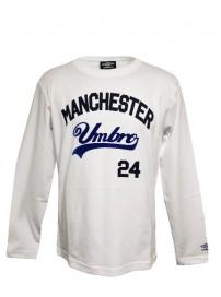 66508 0091 Umbro ανδρική μπλούζα μακό Χρώμα Λεύκό