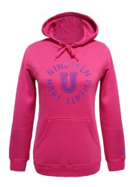 66525 00F1 Umbro Hood Sweat Top (virtual pink)