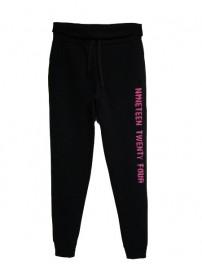 66528 0071 Umbro Γυναικείο παντελόνι φούτερ (black)