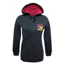 66535 0089 Umbro Full Zip Hood Jacket (ebony)
