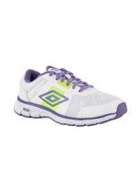 80939U DL2 Umbro Runner 2 W (white/purple hebe/safety yellow)