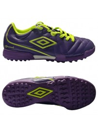 85506U CRC Umbro Speciali 4 Club TF JNR (blackberry/safety yellow/grape)