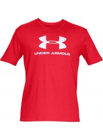 1329590-600 Under Armour Sportstyle Logo (Red)