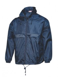 519 Fageo Jacket Wind and Waterproof Χρώμα Μπλε navy