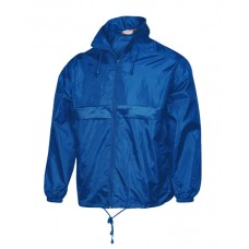 519 Fageo Jacket Wind and Waterproof Χρώμα Μπλε ρουά