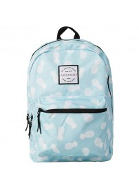 162 AWG 703.75 Awesome Double Backpack (blue/pineapple/allover)