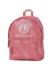 162 FMG 702.41 Franklin & Marshall Backpack (vintage coral)