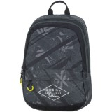 162 ONE 703.70 O'neill Double Backpack (black leaves allover)