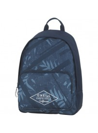 162 ONE 703.75 O'neill Double Backpack (blue leaves allover)