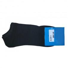 280 Footwear Κοντές κάλτσες 3 ζευγάρια Χρώμα Μαύρο