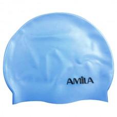 47012 Amila Silicon Swim Cap (siel)