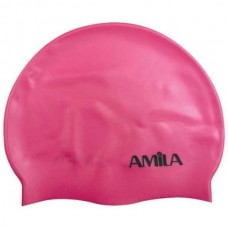 47016 Amila Silicon Swim Cap (faux)