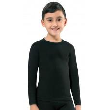 KT01K Kota Thermal Underwear Παιδική ισοθερμική μπλούζα Χρώμα Μαύρο