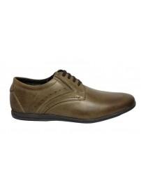 WU50 04101 S&G Ανδρικά δερμάτινα παπούτσια (CHIANTI 85)