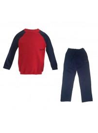 123984 Reebok Boy Suit Παιδικές φόρμες (red/navy)