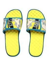 V54503 Reebok RCF Awaken Slide Men Hommes (yellow/navy)